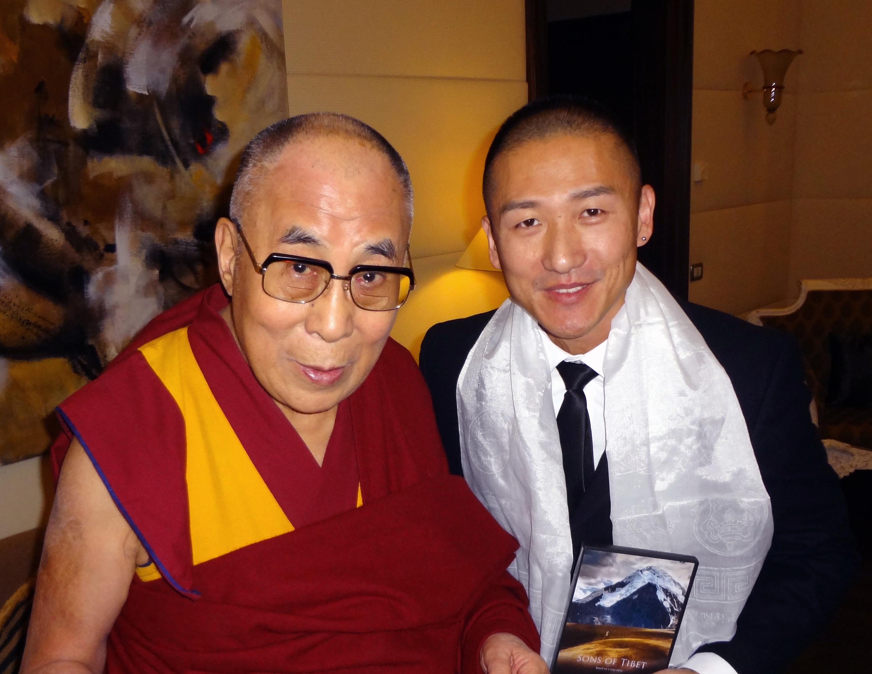 Yoon C.Joyce e il Dalai Lama